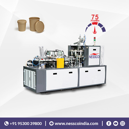 High Speed Paper Container Bowl Machine
