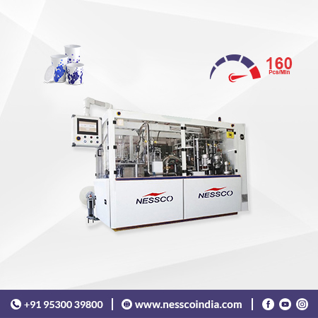 Nesscoindia Feature Image for Fully Automatic Paper Cup Machine