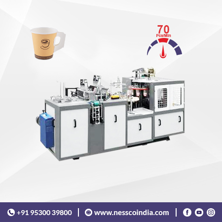 Paper Handle Cup Machine